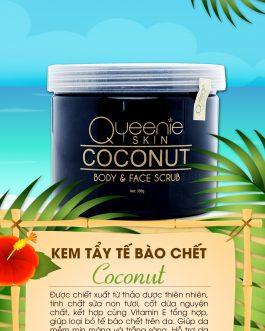 Tẩy Tế Bào Chết Sữa Dừa Queenie Skin