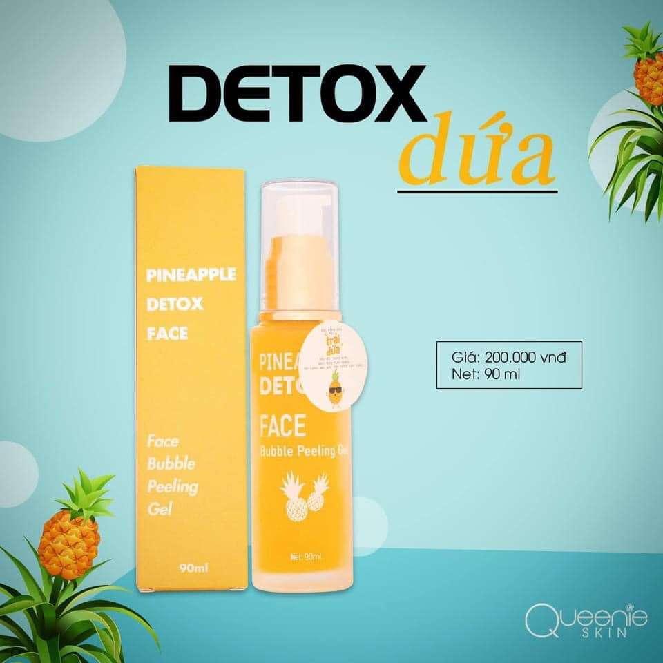 Detox thải độc dứa
