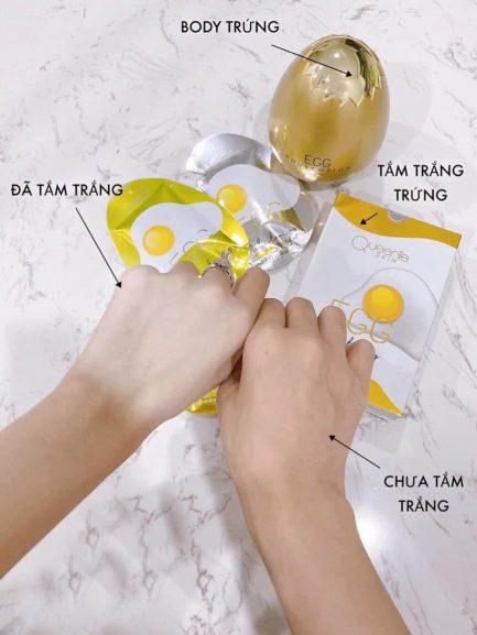 Tắm trắng Trứng Gà
