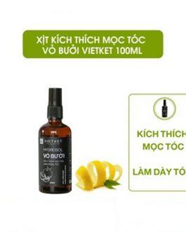 Hydrosol Vỏ bưởi Vietket 100ml (kích mọc tóc mọc, giảm rụng, làm mềm tóc)