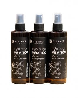 Thảo dược mềm tóc Vietket 250ml (Dầu xả, Ủ tóc tự nhiên không hóa chất)