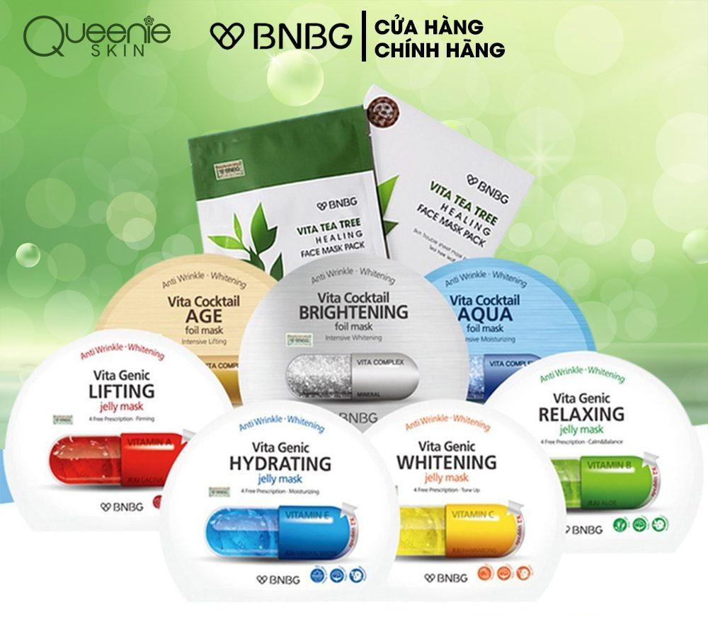 Mặt nạ cấp ẩm dưỡng trắng da BNBG Mask 30ml